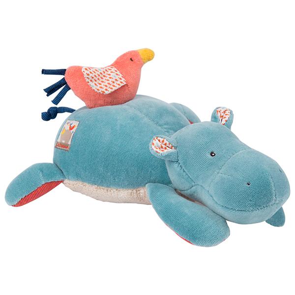 Poupée musique hippopotame Les Papoum Moulin Roty