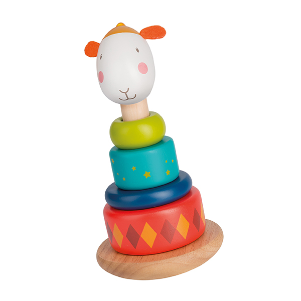 Mouton empilable culbuto Les Zig et Zag Moulin Roty