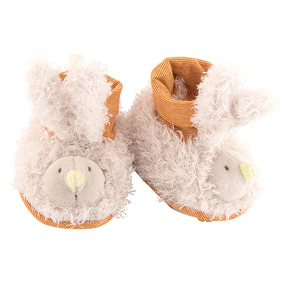 Chaussons lapin Les Zazous Moulin Roty