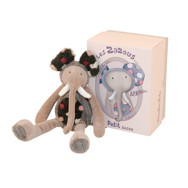 Petit éléphant Les Zazous Moulin Roty