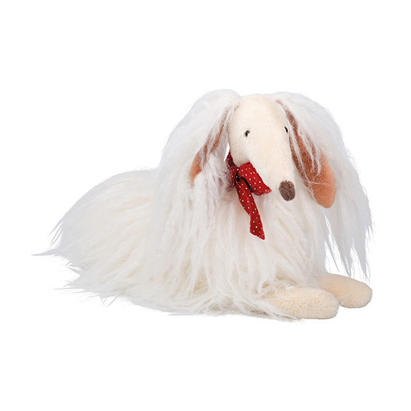 Chien blanc Scarlette Les Coquettes Moulin Roty