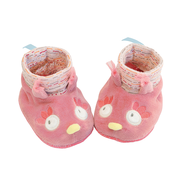 Chaussons chouette Mademoiselle et Ribambelle Moulin Roty