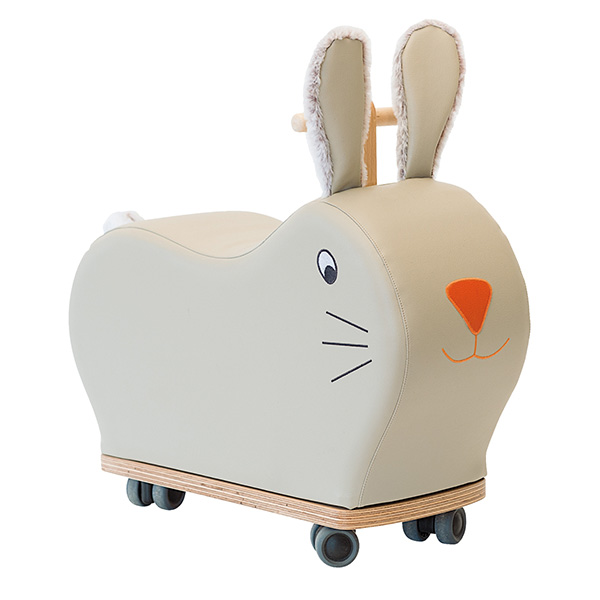Porteur lapin roue folle Moulin roty