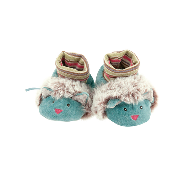 Chaussons chat Les Pachats Moulin Roty