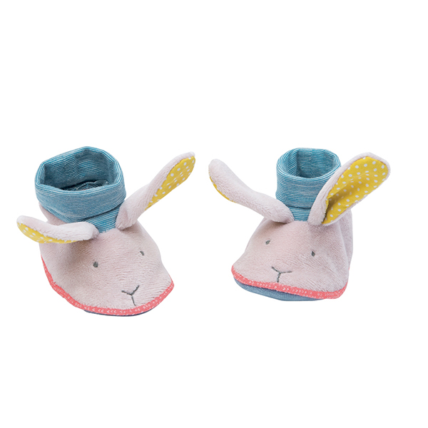 Chaussons lapin Mademoiselle et Ribambelle Moulin roty