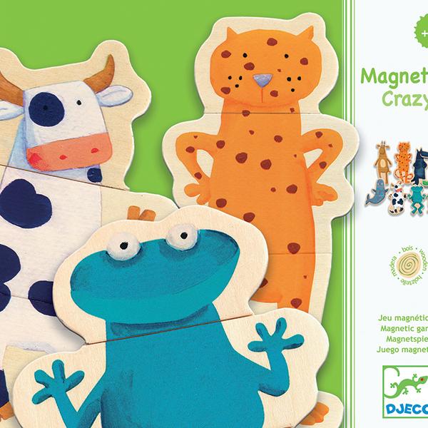 Crazy puzzles magnétiques djeco