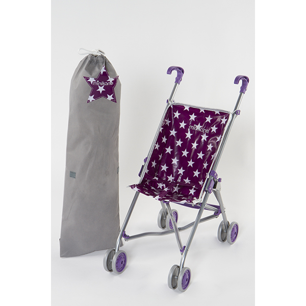 Poussette cane purple Minikane