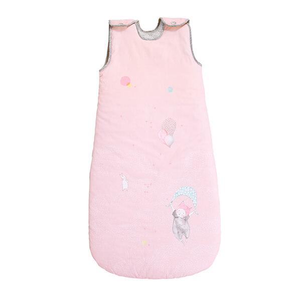 Sac de couchage rose 90cm Les Petits Dodos Moulin Roty