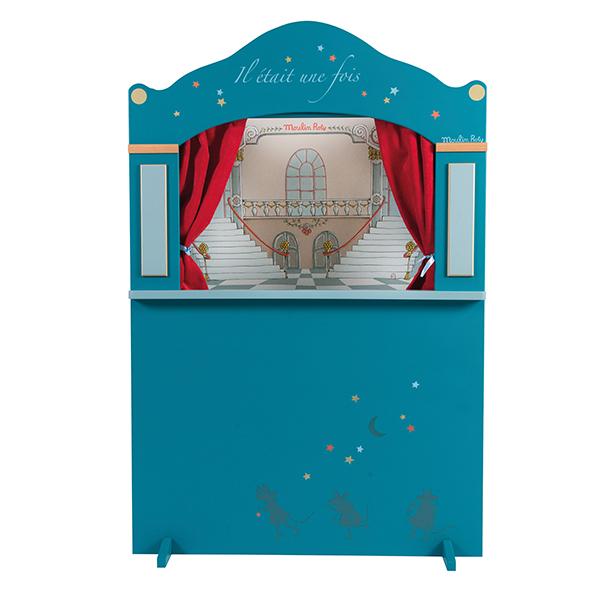 Théâtre de marionnettes bois grand modèle Moulin Roty