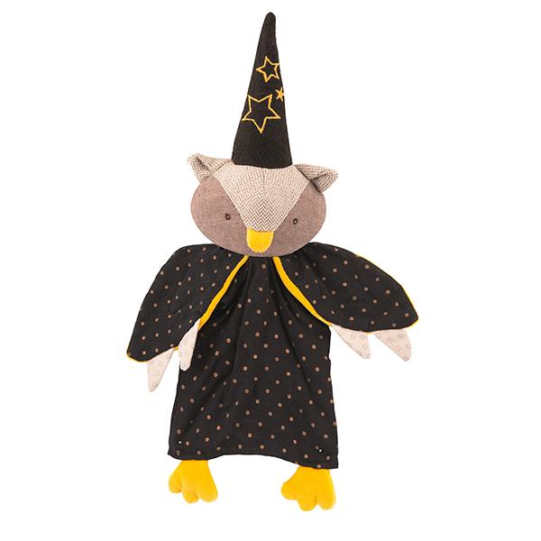 Marionnette Chouette le magicien Moulin Roty