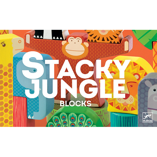 Stacky Jungle jeu d'équilibre