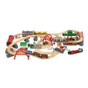 Circuits bois et accessoires trains Brio chez Saperlipopette Moulin Roty Tours