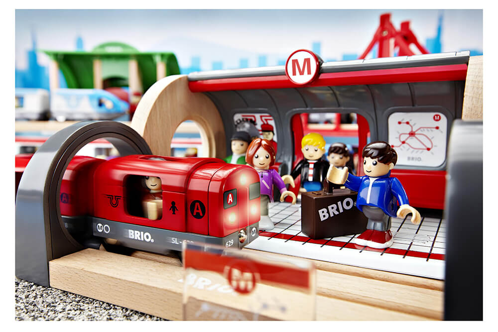 Brio Circuit Train Bois