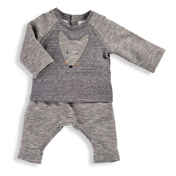 Sweat-shirt NICO et Sarouel NAIM Petits Habits Moulin Roty