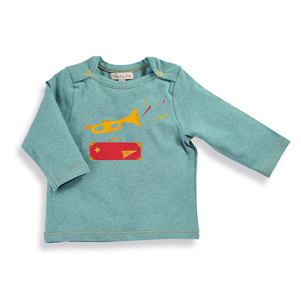 T-shirt NIXON Petits Habits Moulin Roty