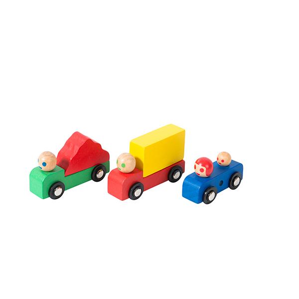 Assortiment voiture + camions Dans La Ville Moulin Roty