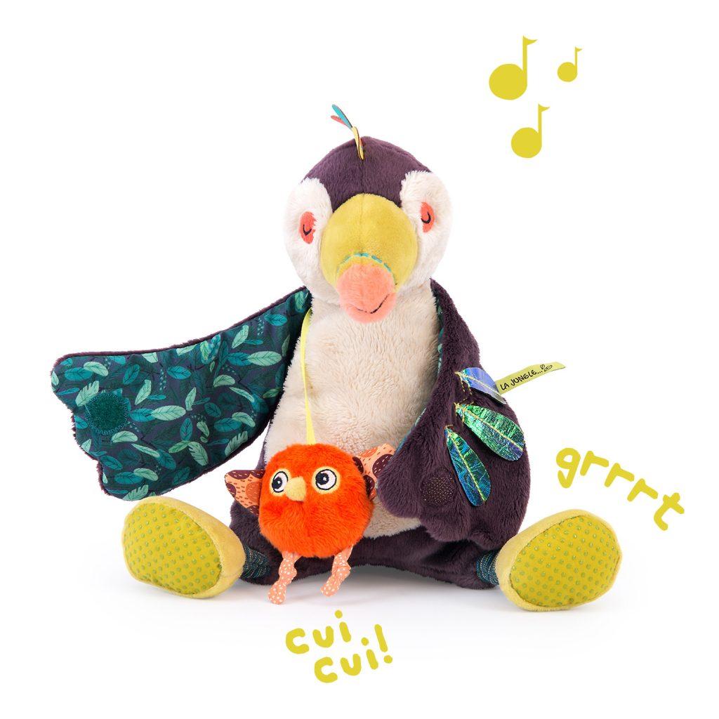 Toucan musical Dans La Jungle