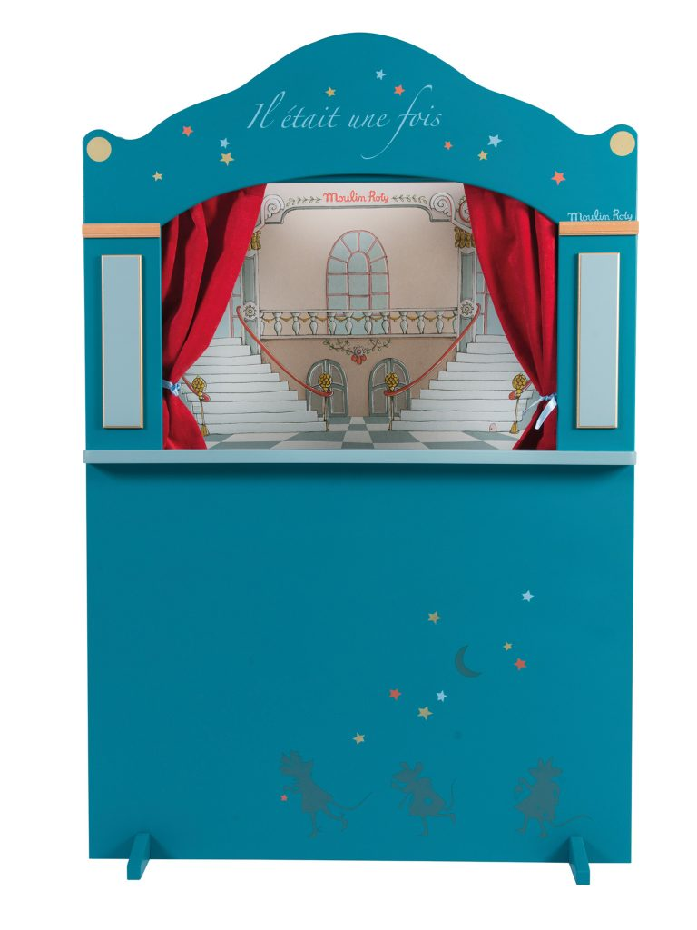 Grand théâtre de marionnettes en bois collection Il était une Fois de Moulin Roty
