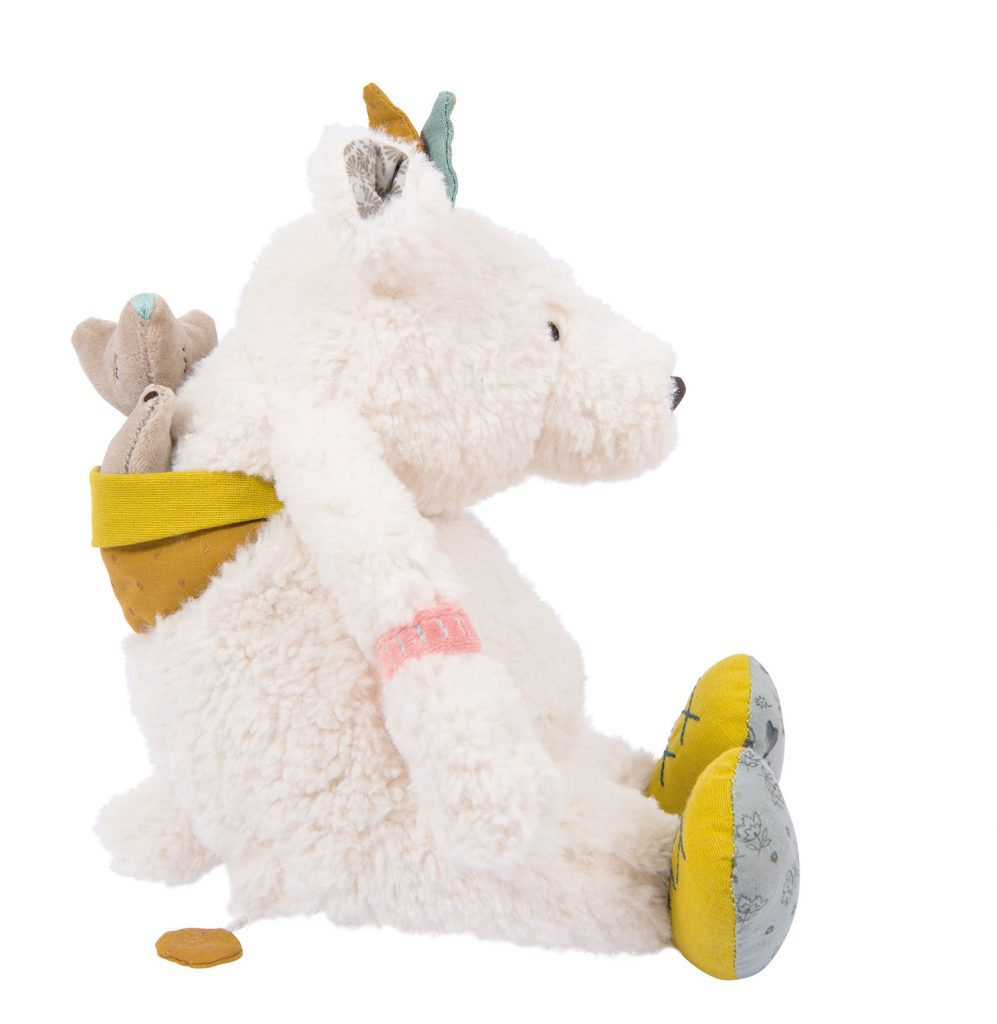 Peluche musicale Ours Pom Le Voyage d'Olga