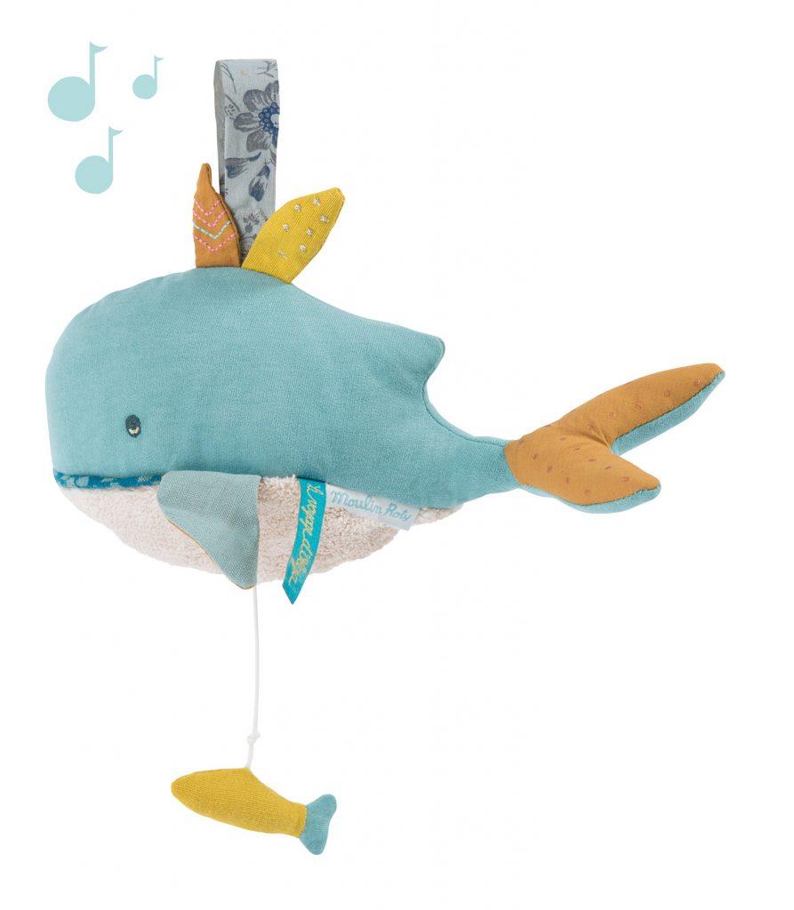 Baleine musicale Le Voyage d'Olga